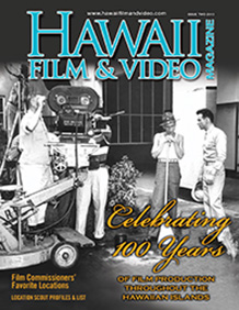 Hawaii Film & Video magazine cover