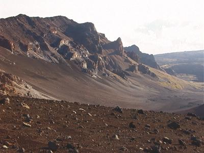 Maui's Haleakala Crater