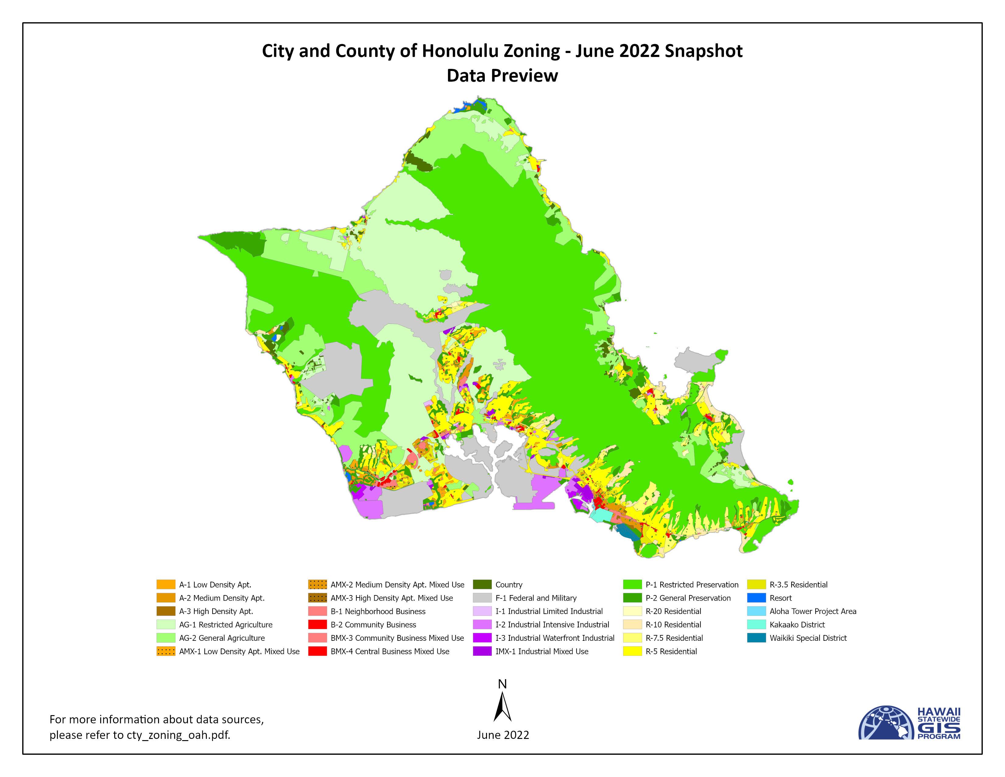 Office Of Planning Download GIS Data - Us zip code honolulu