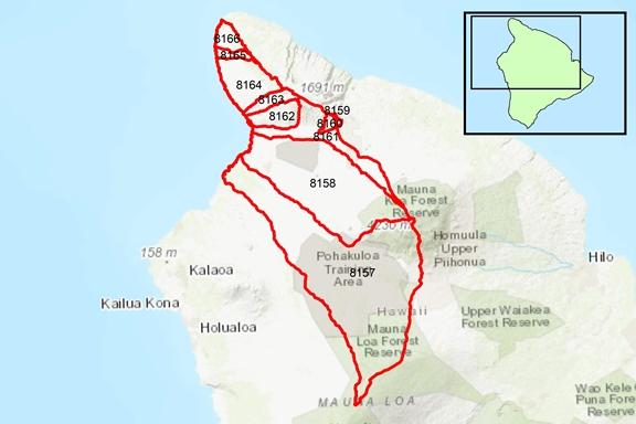 Kohala Region Surface Water Hydrologic Units