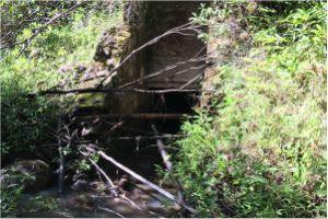 Helemano Ditch intake on Poamoho Stream