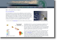 Rainfall Atlas of Hawaii Website