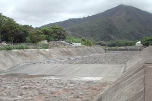 Iao Stream Flood Control Project