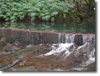 Diversion at Waiokamilo Stream, Maui, Hawaii.