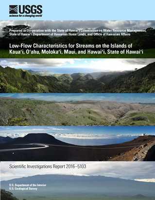 USGS Scientific Investigations Report 2016-5103