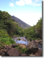 Wailuku River, Maui, Hawaii.