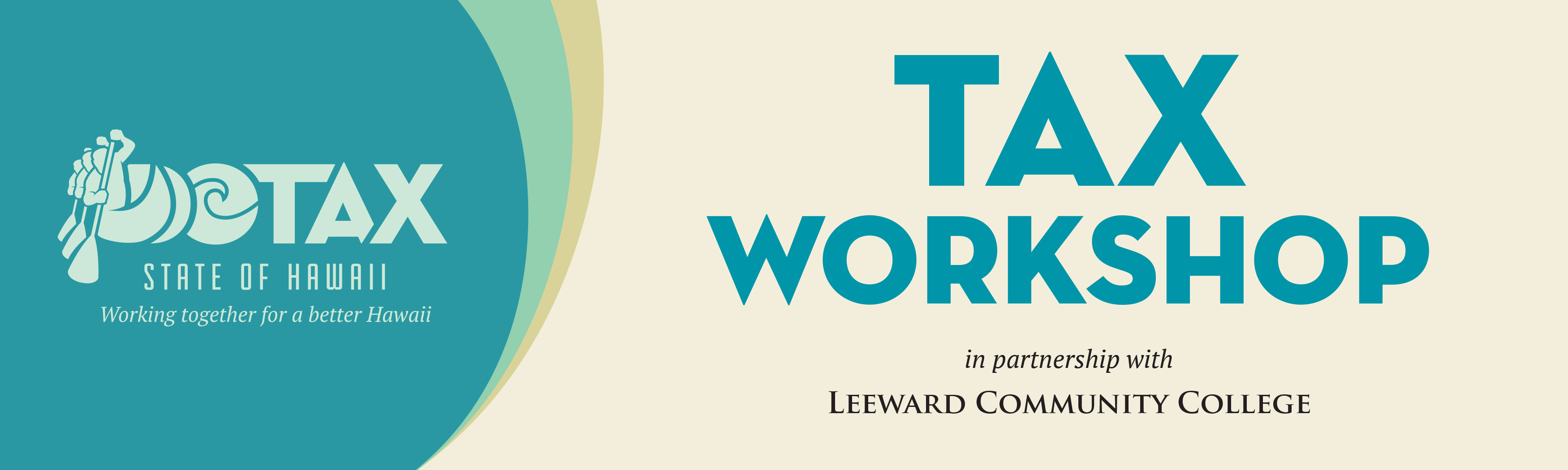 logo for 2020 annual Tax workshop